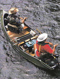 Fly fishing canoes fishing canoes for Best canoe for fishing