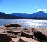 Abiquiu new mexico lodging cabins for Conchas lake fishing report