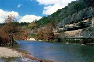 Guadalupe river for Lake mcqueeney fishing
